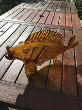 GRANDE PESCE IN VETRO DI MURANO 50'VISTOSI VENINI SEGUSO CENEDESE NASON FISH