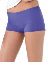 Hanes Womens Boyshorts Panties 6-Pack Brief Assorted Colors Cool Comfort TagFree