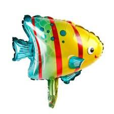 6PCS Lovely Ocean Octopus Shark Fish Foil Balloons Animal Birthday Party Decor-