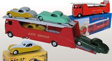 DAN TOYS OFFRE SPÉCIALE Car Carrier Rouge + 5 Jaguar XK120 (couleurs au choix)