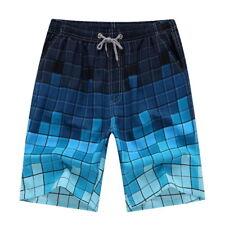Men Multi-Color Boardshorts Surf Beachwear Shorts Swim Sports Trunks Pants BJ