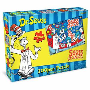 Dr.Seuss Jigsaw Puzzle 300pc Kids Suess Science 6y+ 60.5 x 45.5cm NEW