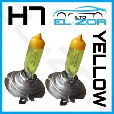 H7 XENON SUPER gelb 100W Glühbirnen Abblendlicht Hauptscheinwerfer 499 Halogen