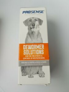 ProSense Dewormer Solutions For Dogs & Puppies - Treatment of Roundworms