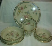 Lenox MORNING BLOSSOM Place Settings (7 pieces each: plates bowls cup saucer)