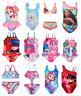Girls Official Licensed Character Swimwear Swimsuit Swimming Costume Or Bikini