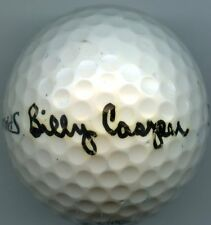 BILLY CASPER Signed 1992 Signed Golf  Ball 1970 Masters   KOA Authenticated