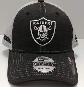 Las Vegas / Oakland Raiders New Era 9Forty Adjustable Surge Stitcher Cap