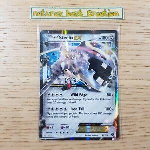 NEAR MINT Condition Steelix EX 67/114 Holo/Shiny Pokemon Card, Steam Siege