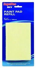 "SupaDec DIY Decorating Paint Pad Refill 6"" x 4"" / 150mm x 100mm"