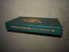 Infernal Parade Clive Barker Lettered Signed Subterranean Press