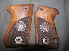 Beretta Cheetah 81//81B//81BB ONLY Pistol Grips French Walnut Chkd w//CHEETAH LOGO