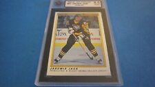 1990 O-PEE-CHEE Jaromir Jagr #50 Hockey Card KSA 8.5 NMM+