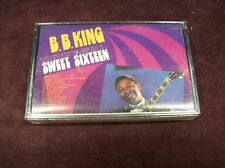 "B.B. KING ""THE ORIGINAL SWEET SIXTEEN"" CS TAPE SEALED UNITED USA 19?? BLUES ETC"