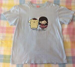 AKB48 Watanabe Mayu Sanrio Pom Pom Purin Chanrio Unisex T Shirt Size S