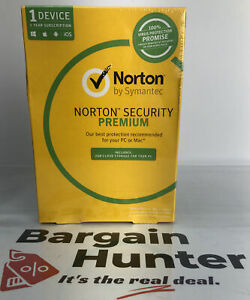 692 Norton Security Premium Brand New Sealed 1 Device 1 Year Subscription