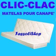 MATELAS WATER FOAM POUR CANAPE' CLIC-CLAC CM 60+60x190  HAUTEUR 18  FASSOLISHOP