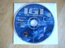 Project IGI: I'm Going In  (PC, 2000)(New! Sealed CD)