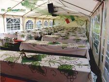 Tischdecke WEIN Folie Dekoration WEINREBE WEINTRAUBE DEKO Weintrauben 0,78€/m²