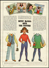 1981 vintage magazine paper doll, Betsy McCall Get's the Picture  -061512