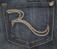 NWT Rock & Republic maternity jeans Ritchie straight leg in Advent Blue 23