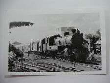 INDO50 - INDONESIAN STATE RAILWAY - STEAM LOCOMOTIVE C27.16 PHOTO Indonesia