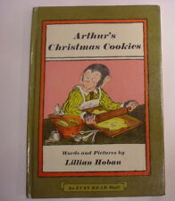 Arthur's Christmas Cookies, Lillian Hoban, An I Can Read Book, stated 1st Edit.