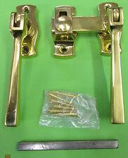 French Window Fastener 4526 Perkins & Powell /Samuel Heath Birmingham Brass