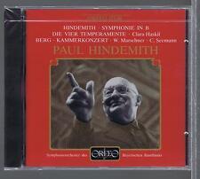 HINDEMITH CD NEW SYMPHONIE IN B BERG CLARA HASKIL