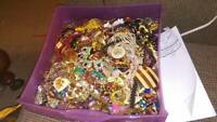 Vintage Now Jewelry Lot Mix 10 Pc Your Wish List Box ALL GOOD Wear Resell EXTRAS