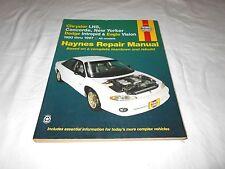 service repair manuals for chrysler lhs for sale ebay rh ebay com 1997 chrysler lhs owners manual 1997 chrysler lhs owners manual pdf