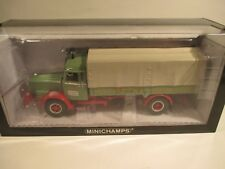 Minichamps 439079024 and 439161095 Büssing truck and trailer Wandt 1:43 MIB