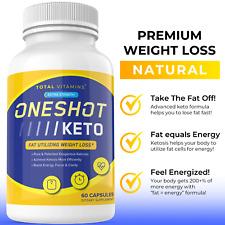 One Shot Keto Diet Pills Advanced Weight Loss Instant Keto Fast Ultra Keto Burn