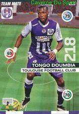 195 TONGO DOUMBIA MALI TOULOUSE.FC TFC CARD ADRENALYN 2016 PANINI D