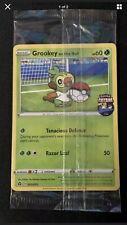 Grookey On The Ball Promo Card! New Pokemon Futsal Promo GAME UK Exclusive