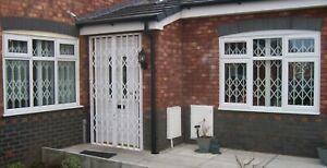 CONCERTINA SECURITY GRILLES,WINDOW GRILLE, WINDOW SHUTTER, DOOR SHUTTER