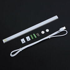 Dimmable USB LED Touch Sensor Strip Light Kitchen Cabinet Cupboard Lamp Bar:30CM