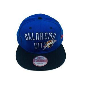 Oklahoma City Thunder OKC New Era Heathered Blue 9FIFTY Snapback Men's