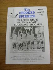 Aug-1989 Chesterfield: The Crooked Spireite  No.14 - Independent Football Magazi