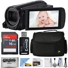 Canon VIXIA HF R700 HD Videocámara videocámara (Negro) + Kit Accesorios Lote
