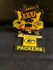NFL Super Bowl XXXI Green Bay Packers Championship Pin (New/Unused)
