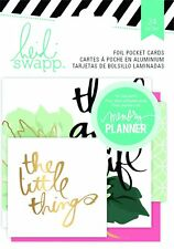 Heidi Swapp Hello Beautiful Foil Pocket Cards, 24 Pieces - 4-Pack