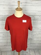 Para Hombre G-Star Raw T-shirt-grande-Rojo - Regular Fit-Excelente Estado