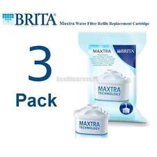 3 PACK BRITA Maxtra Water Filter Refills Replacement Cartridge Marella Genuine