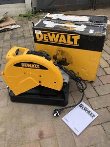 DEWALT D28710 METAL CUT OFF SAW, METAL CHOP SAW. 230V