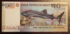 "Djibouti - Billet de 40 Francs de 2017 ""Commemorative"" Neuf - Unc"