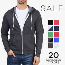 Bella + Canvas Fleece Zip Hoodie Ultra Soft Unisex Hooded Sweatshirt 3739