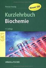 Biochemie: Kurzlehrbuch zum Gegenstandskatalog 1 mit Ein... | Buch | Zustand gut