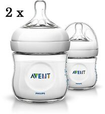 Philips Avent Natural Newborn Feeding Bottle 125ml 2 Bottles BPA