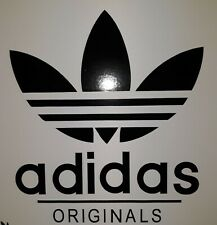 "Adidas originals 7"" x 8"" Car  Scooter lambretta vespa Camper Van Decal sticker"